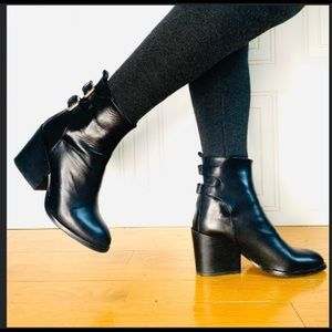 🍀🍀 Zara  Woman BOOTS LEATHER 🍀🍀